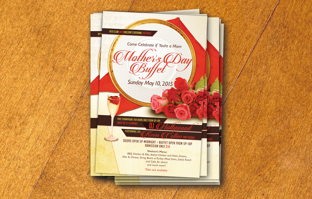 Mother's Day Buffet Flyer